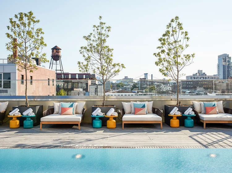 The best hotel and rooftop pools in NYC
