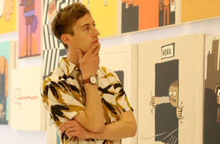 Jean Jullien at The People exhibition in Bangkok