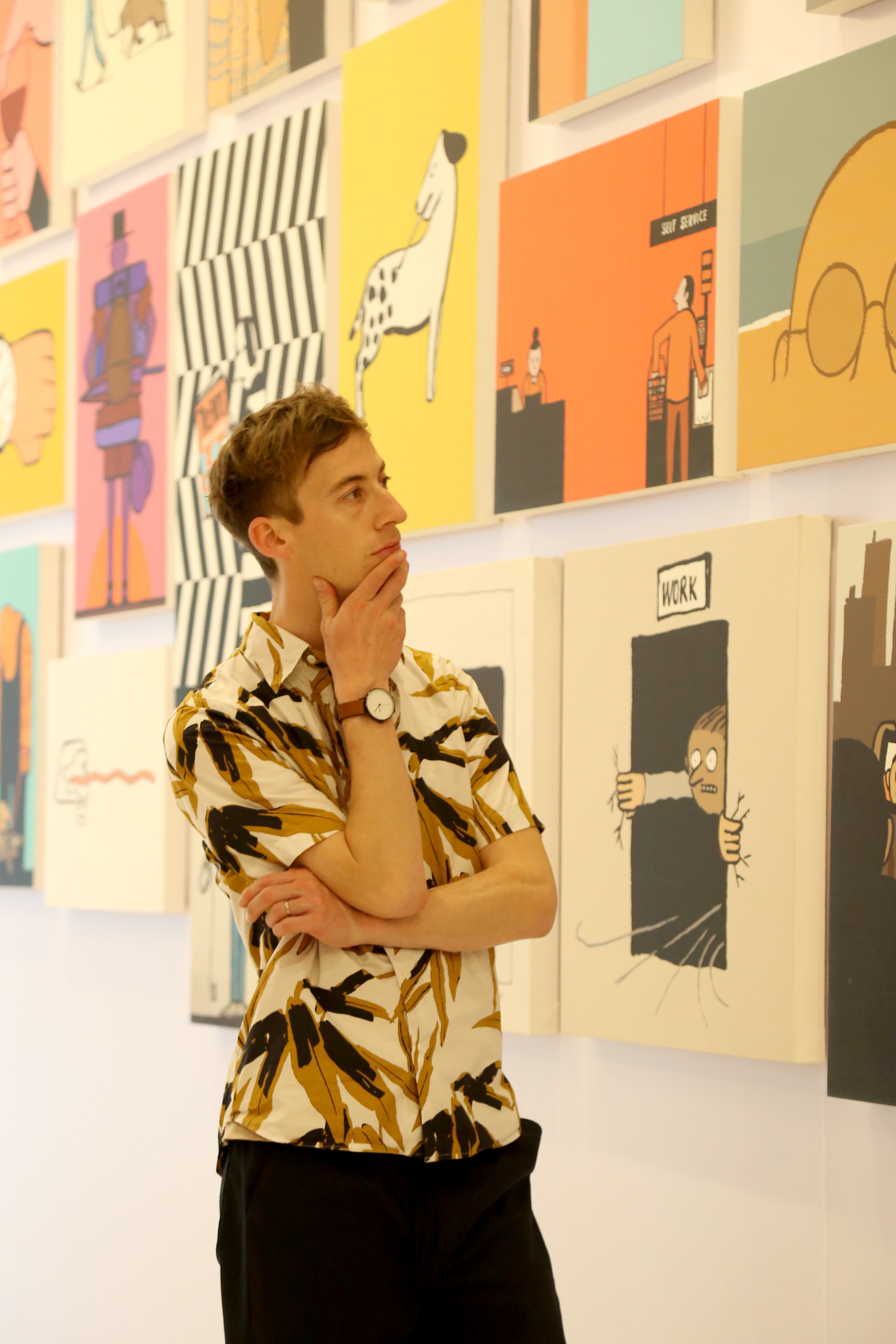 Q&A with Jean Jullien