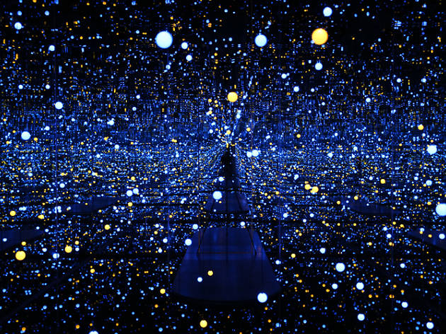 Four works not to miss at Yayoi Kusama's 'Life is the Heart of a Rainbow'