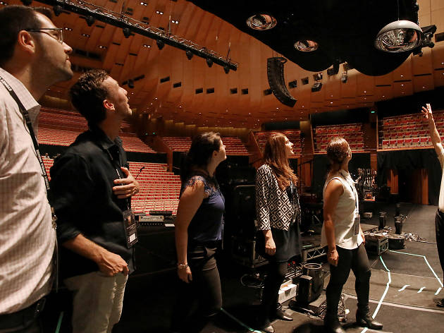 Sydney Opera House backstage tour