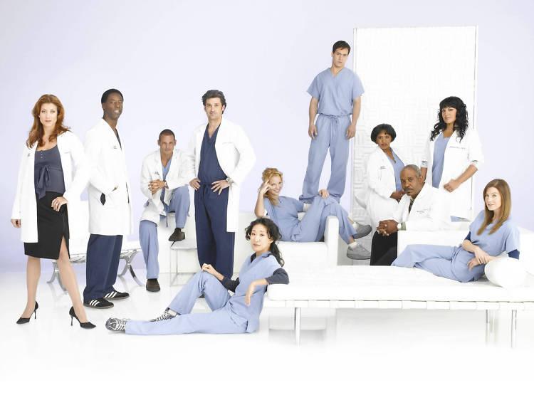 12 séries de médicos e hospitais