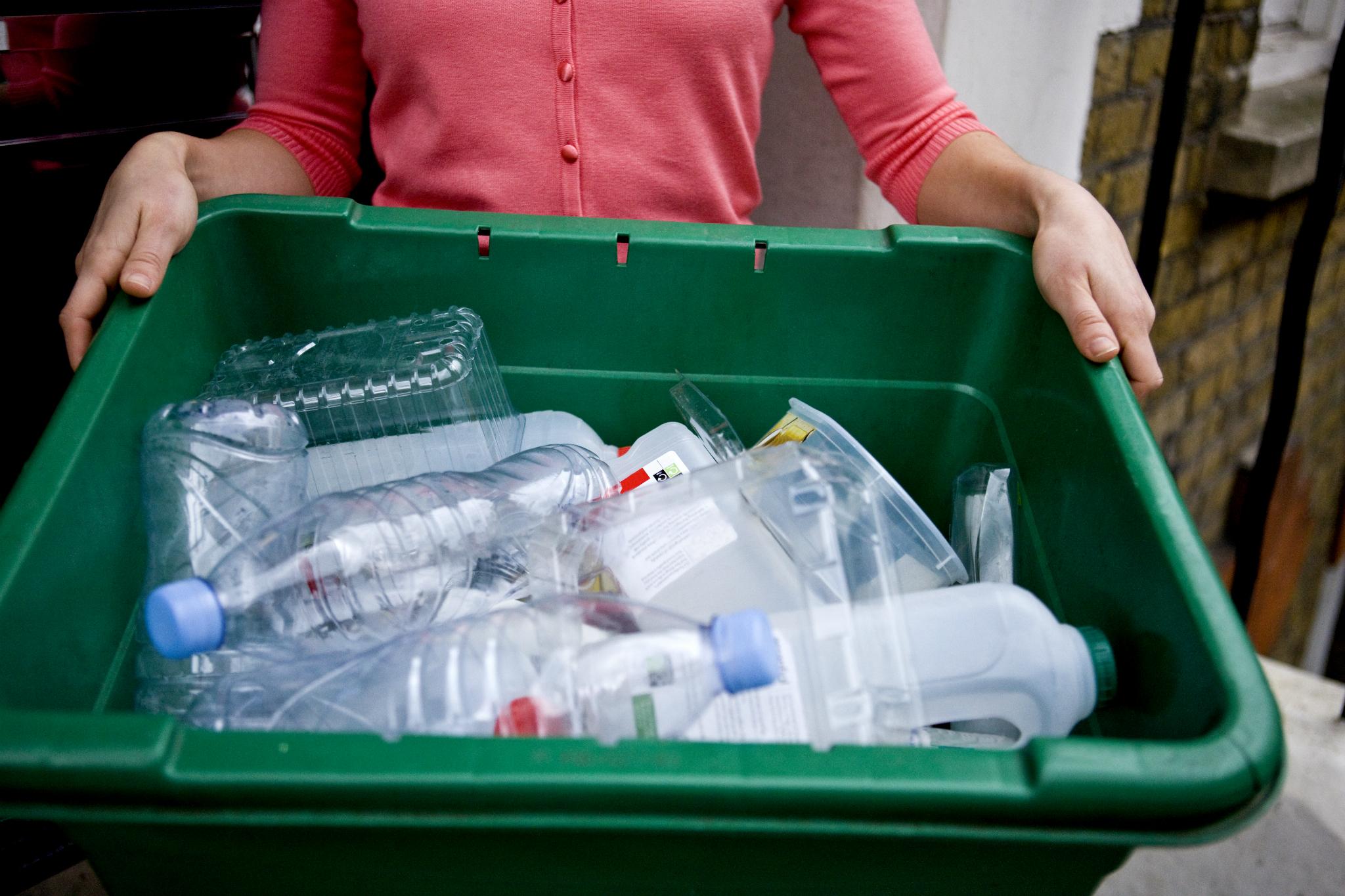 Desechos para reciclar