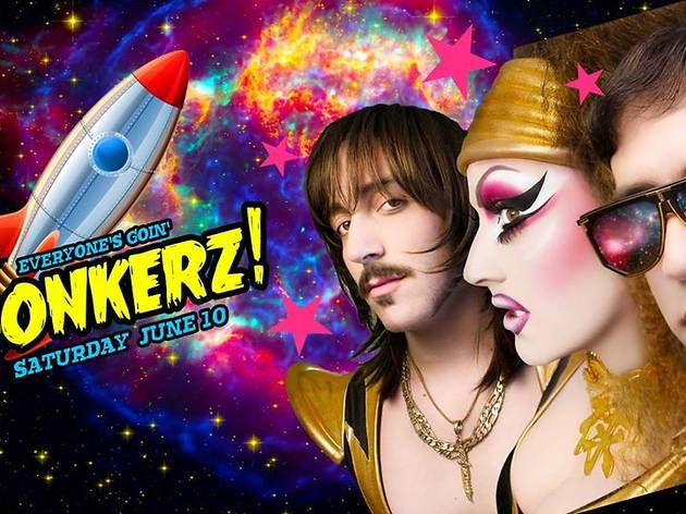 Bonkerz! Gay Pride with Dirty Sanchez and Candis Cayne