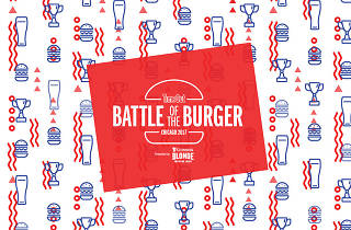 Battle of the Burger 2017 creative
