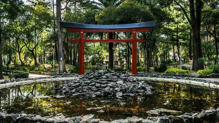 Parque Masayoshi Ohira, japón en la CDMX, asia en la CDMX