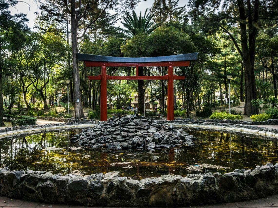 Parques y jardines en Coyoacán