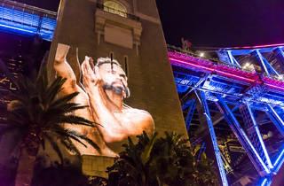Vivid Sydney 2017 EORA - Bennelong 01 Bangarra Dance Theatre for Vivid Lights photograph courtesy and (c) Destination NSW