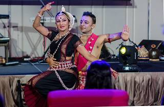 An evening with Kalai in Odissi