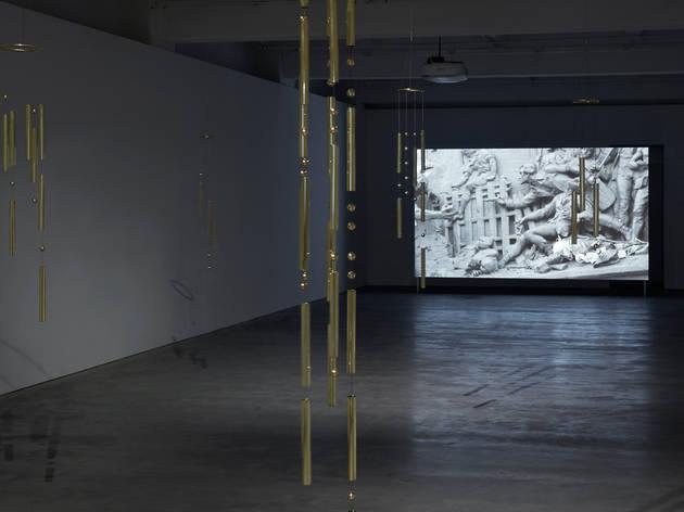 Angelica Mesiti Tossed by Waves 2017 Anna Schwartz Gallery Melbourne installation view 01 courtesy Anna Schwartz Gallery