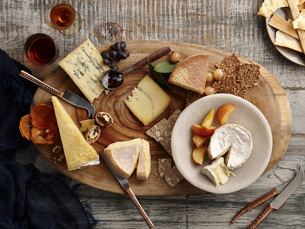 Cheese platter by Dairy Australia