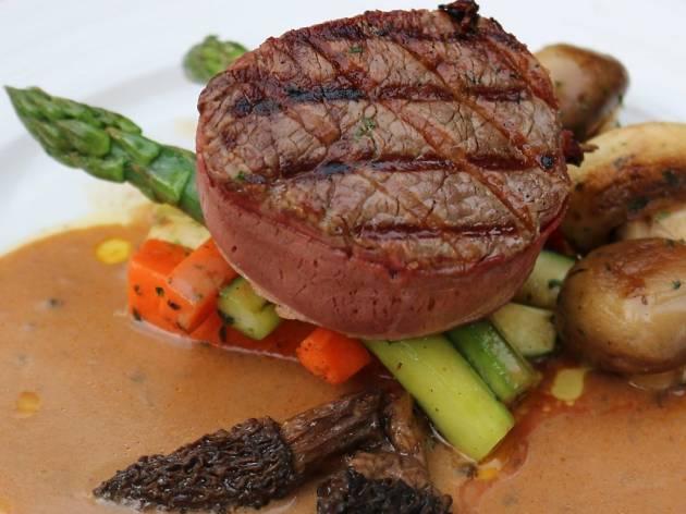 The Steakhouse KL dry-aged steak