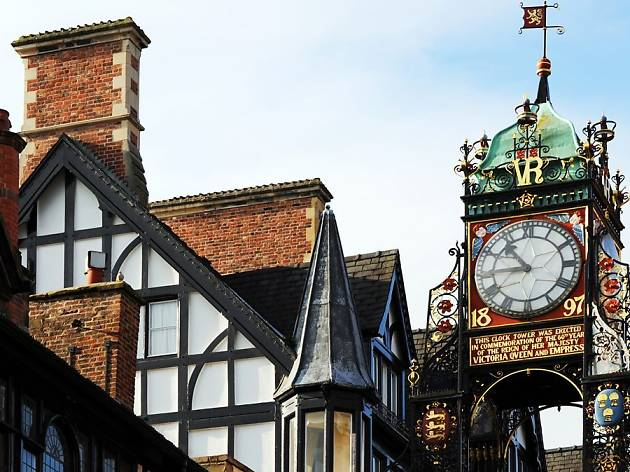Eastgate Clock Tower Chester, Macdonald New Blossoms Hotel offer