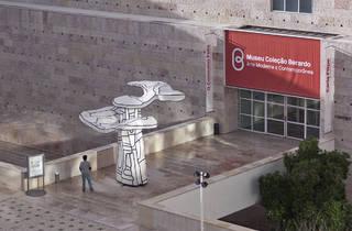 "museu berardo peça   ""L'Abre biplan"