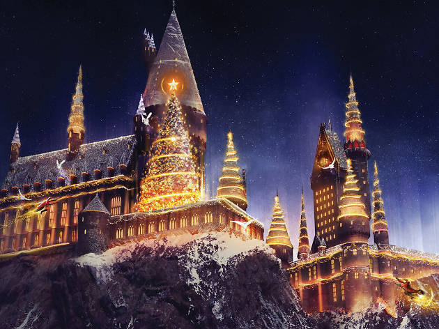 Wizarding World of Harry Potter reveals Christmas magic to look forward to