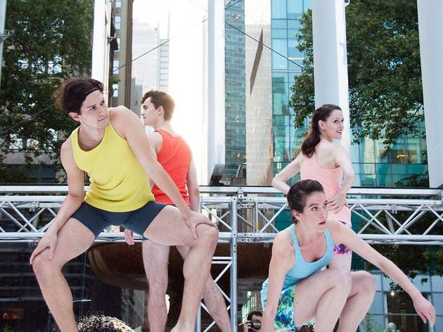 Bryant Park Presents Contemporary Dance