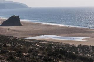 Caminhando nas Praias do Meco