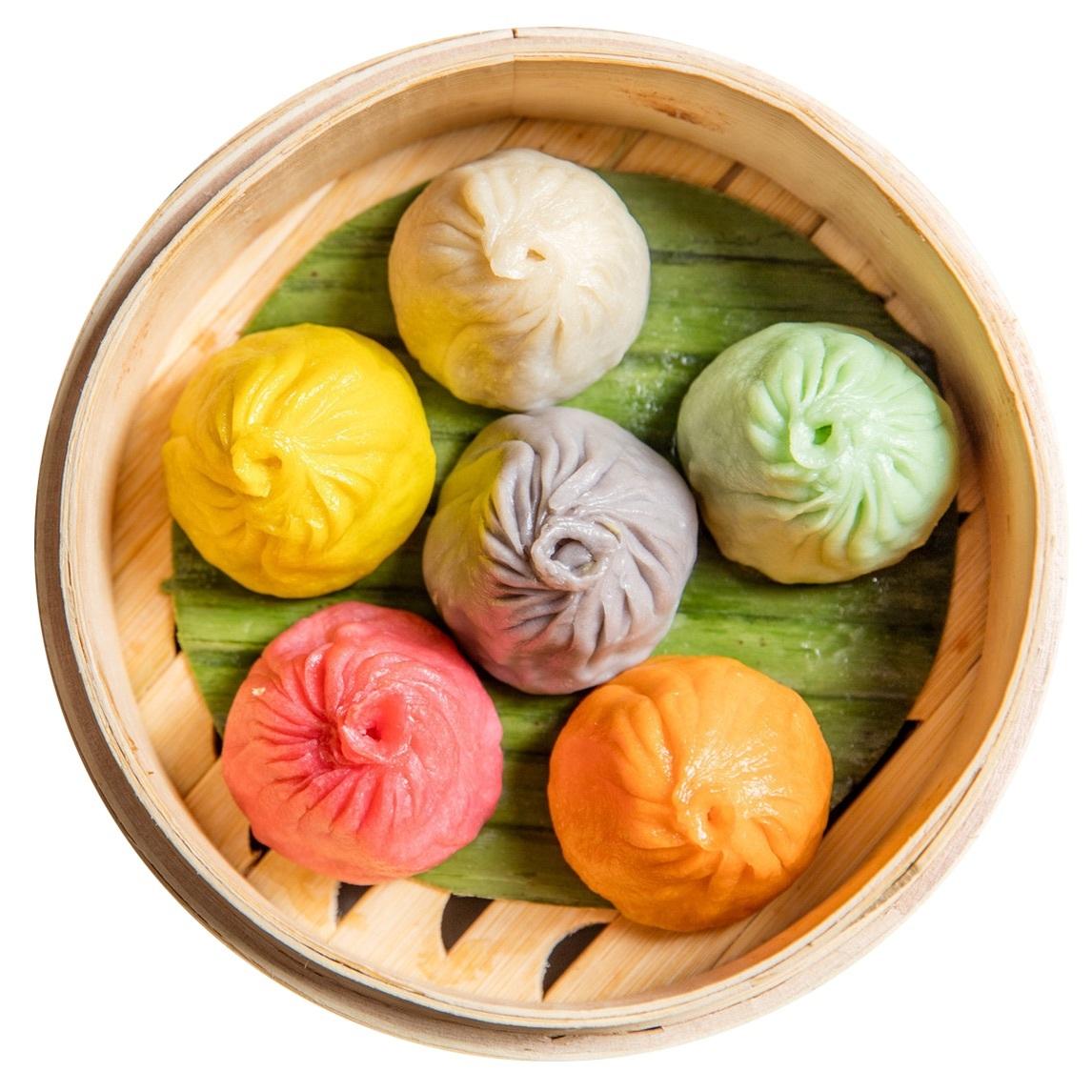 Celebrate Pride with these precious rainbow dumplings