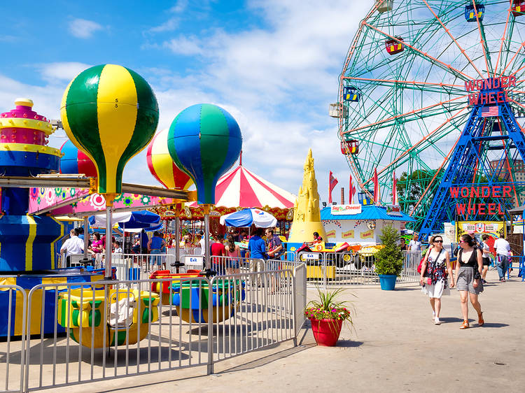The best kids' amusement parks in New York City