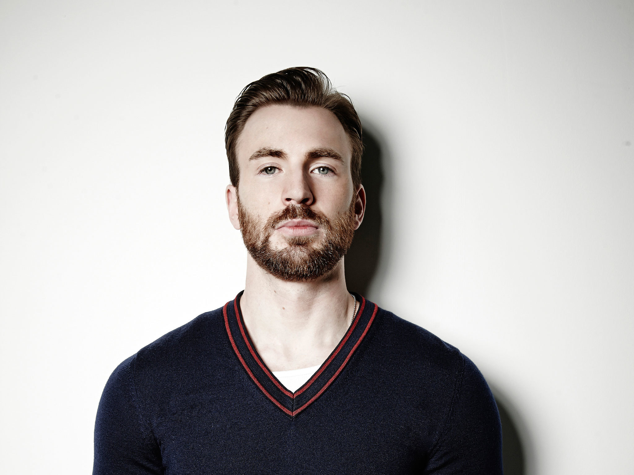 Chris Evans: 'If I let myself open up, tears are never too far away'