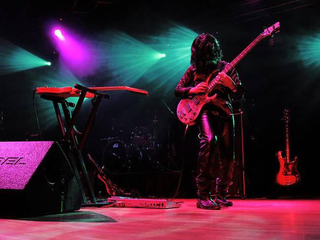 Héctor Hellion bajista rock progresivo