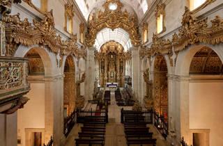Mosteiro de Tibães - Nave