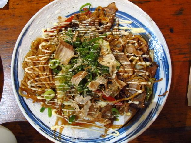 Japan: Okonomiyaki at Okan