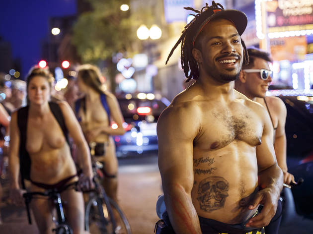 Check out photos from World Naked Bike Ride Chicago 2017