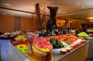 the steak house salad buffet