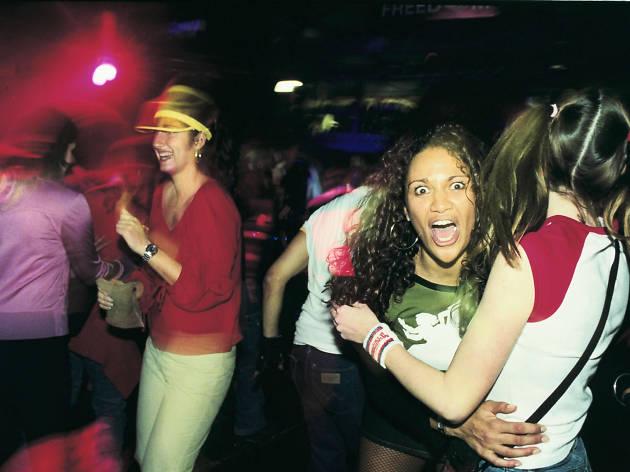 Bagleys club, Kings Cross, London, 2000.