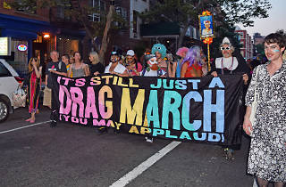 The NYC Drag March