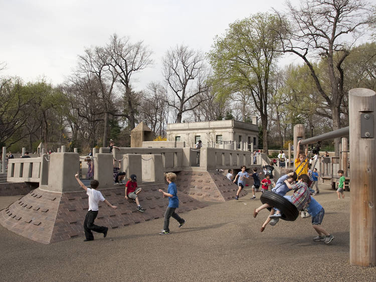 Ancient Playground, Central Park