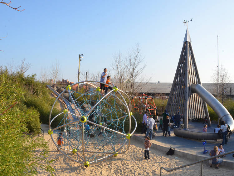 Pier 6 Playgrounds, Brooklyn Bridge Park