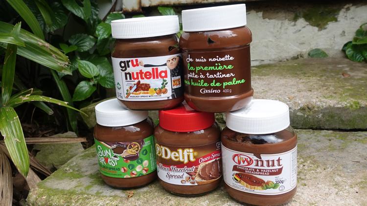 Taste test: chocolate hazelnut spread