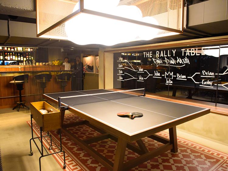 渋谷に複合型卓球スペース、T4 TOKYOがオープン
