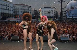 Puerta del Sol parties