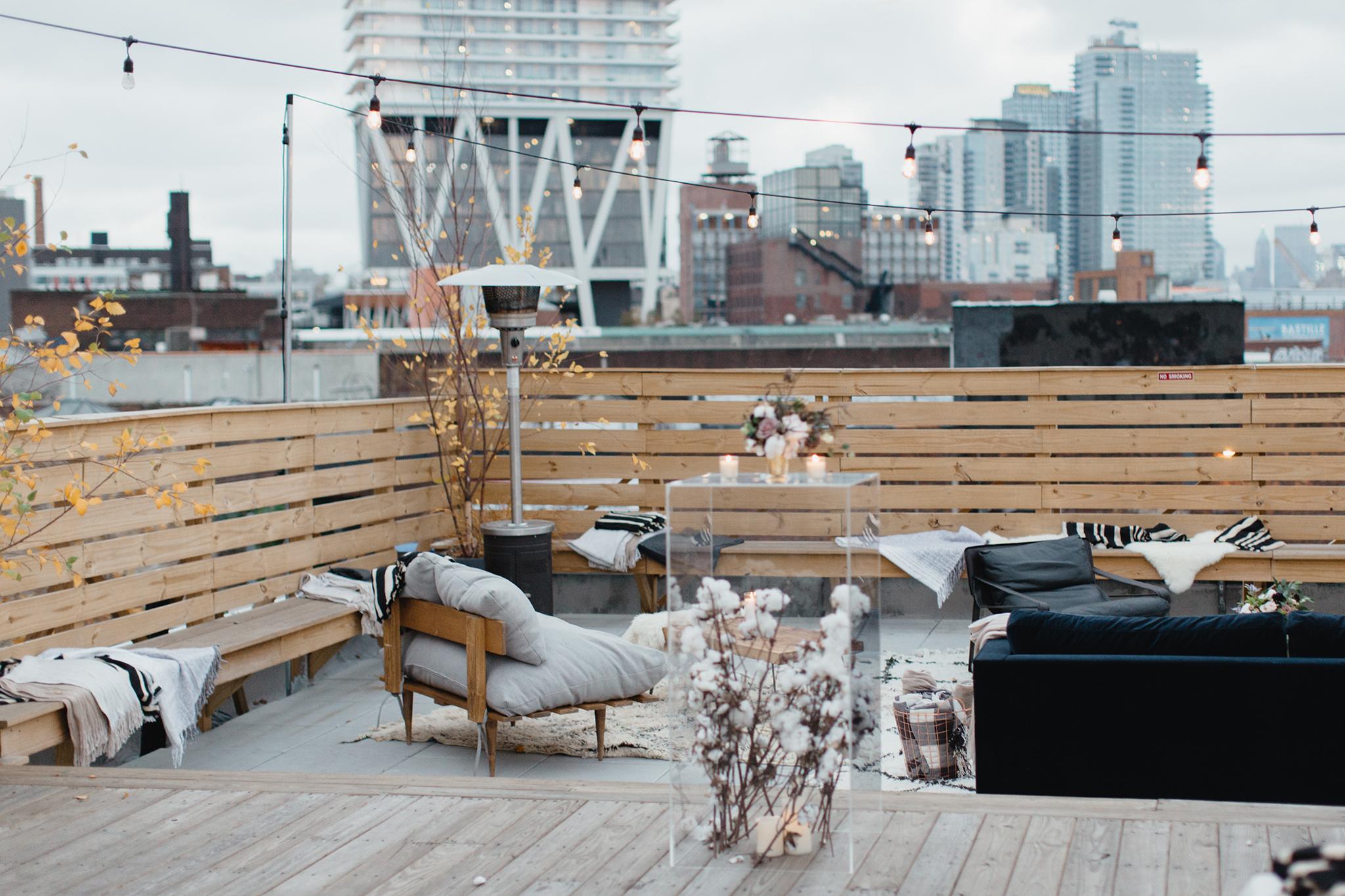 Dobbin St Rooftop Terrace