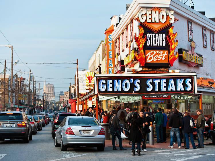 Pat's and Geno's