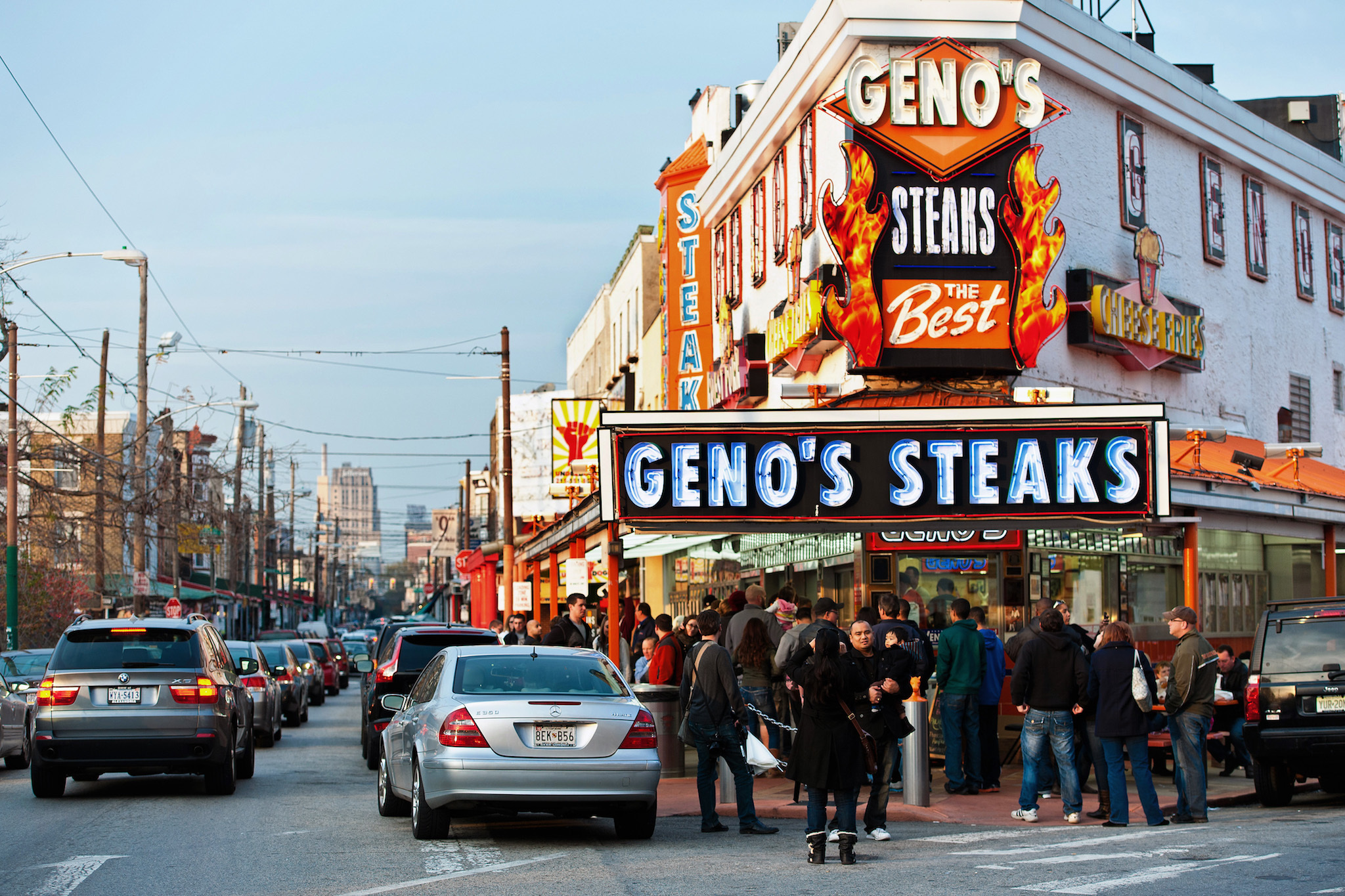 Pat's and Geno's