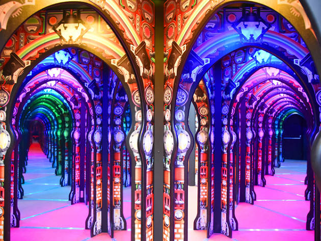 Professor Crackitt's Light Fantastic: A Mirror Maze Experience