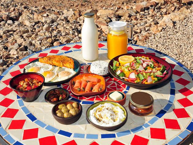 The best Israeli breakfast in Tel Aviv