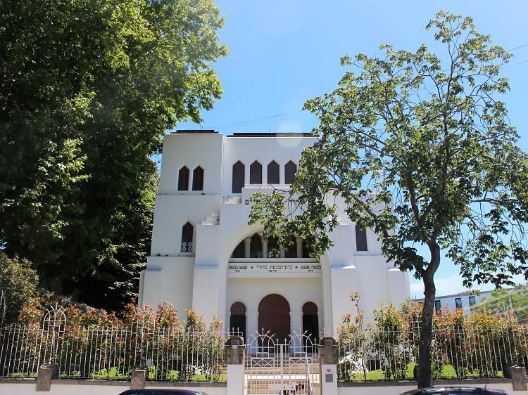 Temos a maior Sinagoga da Península Ibérica