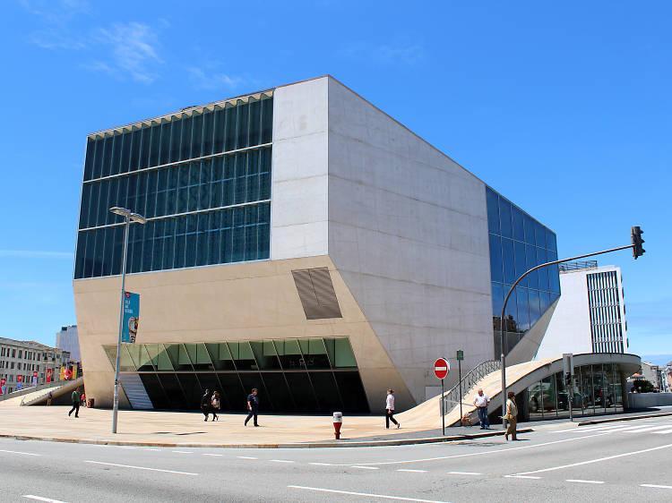 Ande de skate na Casa da Música