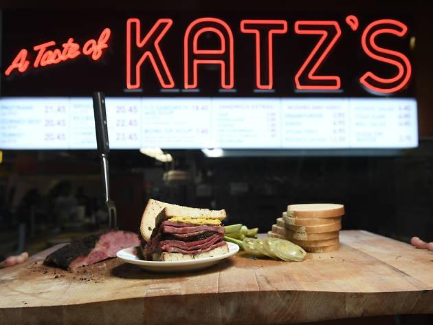 Katz's Delicatessen at DeKalb Market Hall