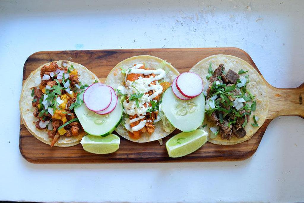 Lengua taco at El Sol Restaurante & Tequileria