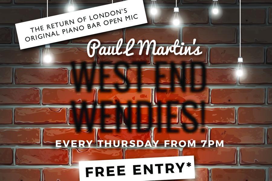 West End Wendies Open Mic