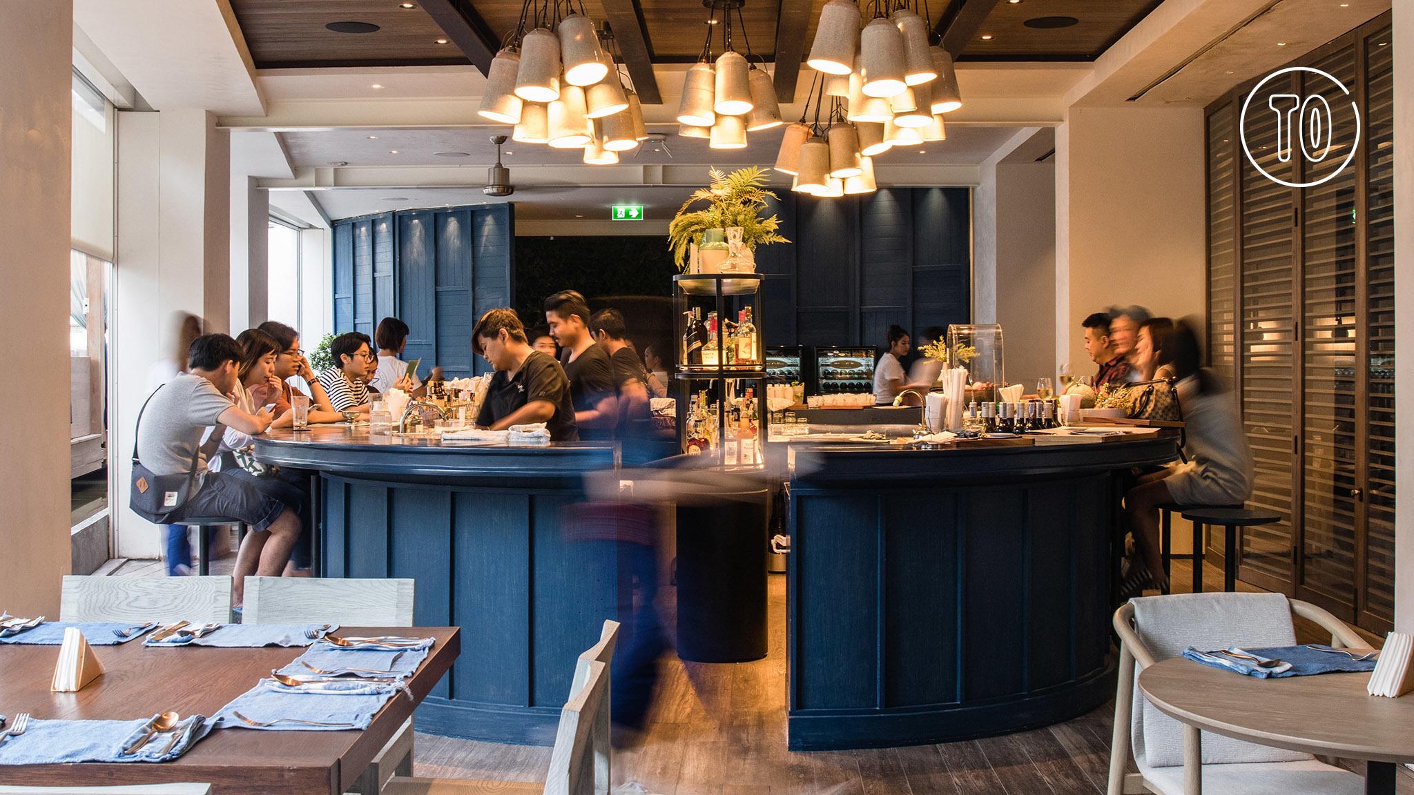 The bar at Siwilai City Club, Central Embassy Bangkok