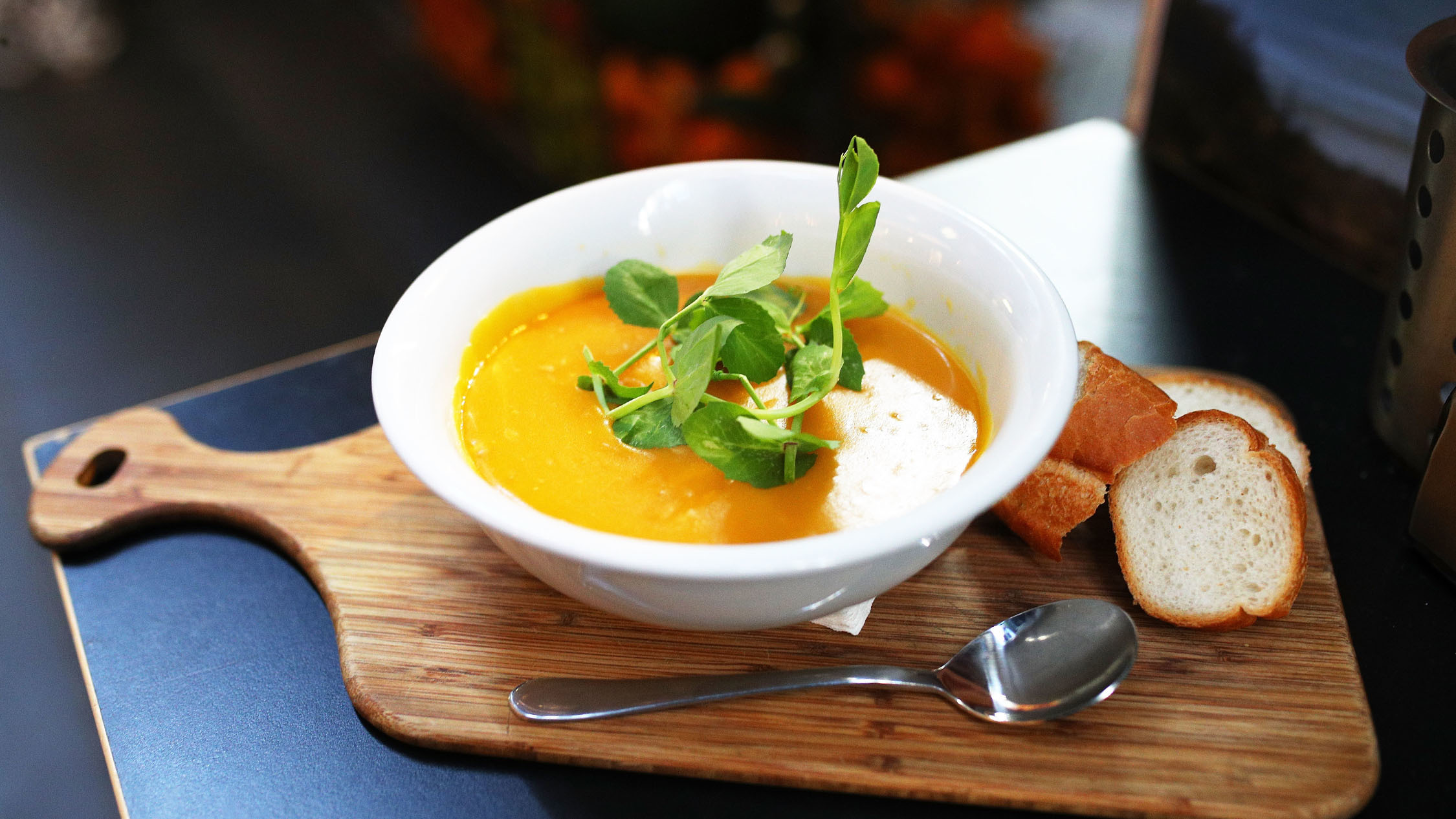 The Soup Place pumpkin soup