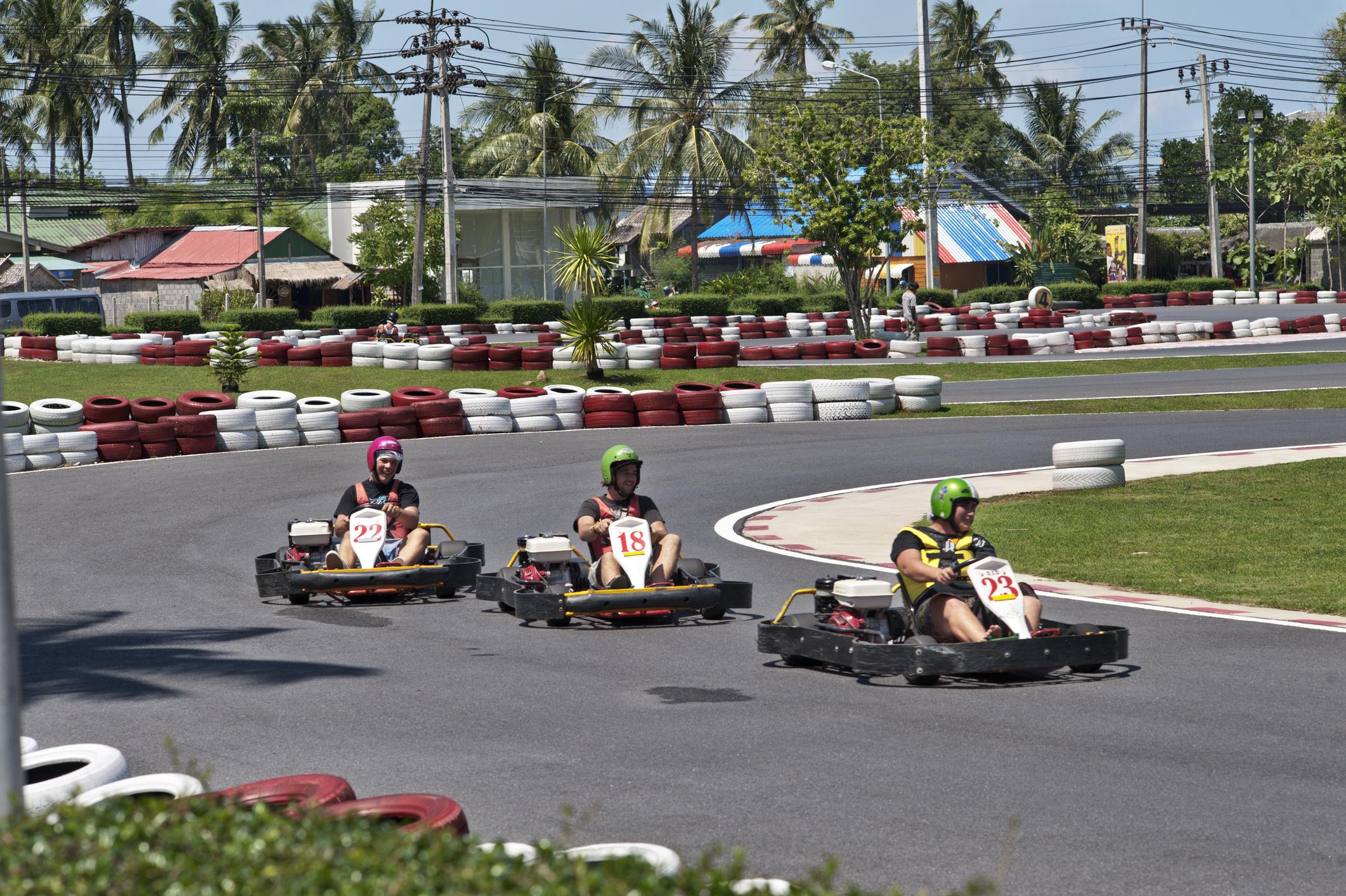 Book a go-kart session