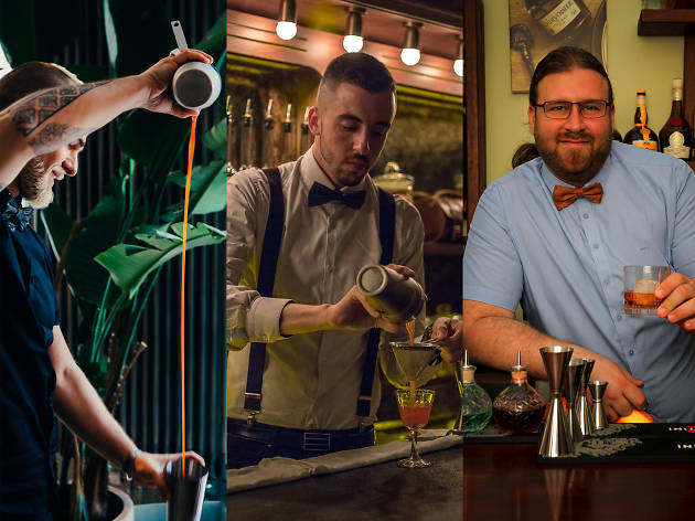 Where Israeli bartenders drink